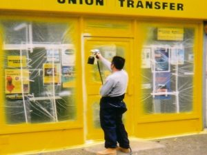 Shopfront Spraying Lancashire