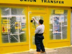 Shopfront Spraying Cheshire